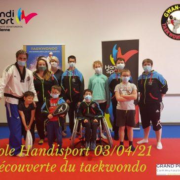 L'école du sport vient à la rencontre du Gwan Yong Taekwondo